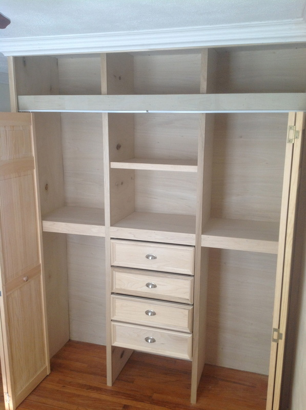 amazing in storage closet custom shelves built roselawnlutheran of